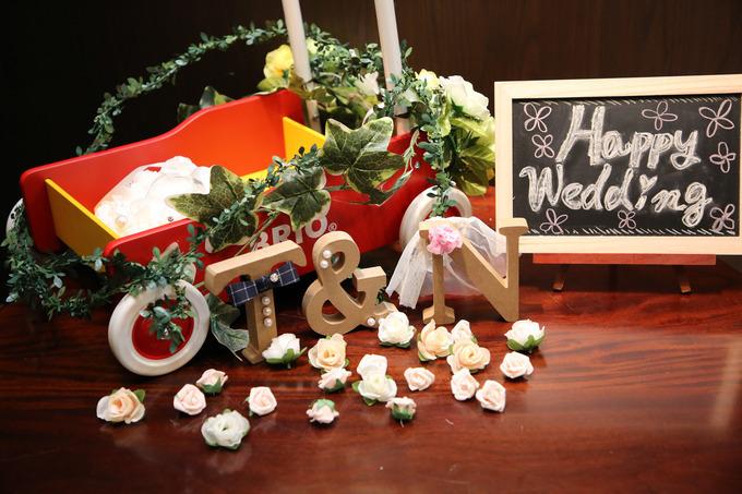 結婚式DIY
