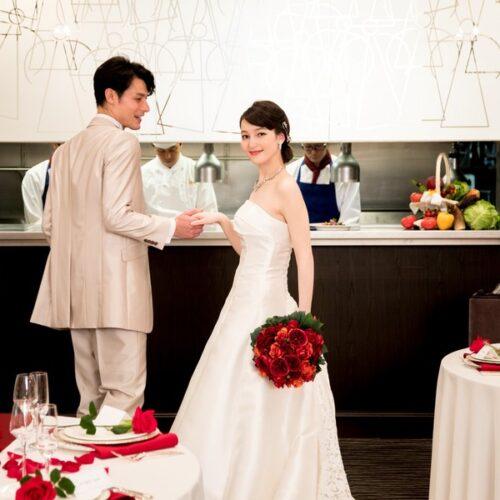 【30名までの少人数婚】海一望!オープンキッチン付個室で美食堪能